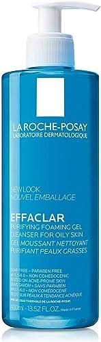 La Roche Posay Effaclar Gel Purificante Gel Limpiador Facial para Piel Grasa, 400 ml