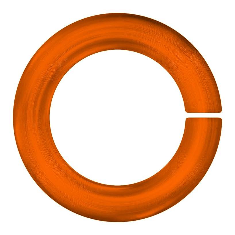Weave Got Maille 18-Gauge 3.5mm Pumpkin Anodized Aluminum Jump Rings - 1 Ounce,