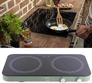 【𝐒𝐩𝐫𝐢𝐧𝐠 𝐒𝐚𝐥𝐞 𝐆𝐢𝐟𝐭】 Electric Induction Cooker, 2800W Double Induction Cooktop Dual Burners Induction Cooker w...