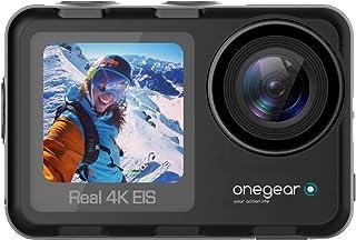 OPro Thunder 4 K 60 fps action reis-camera met professionele 6-assige stabilisator, 5 m + behuizing 30 m Europese garantie