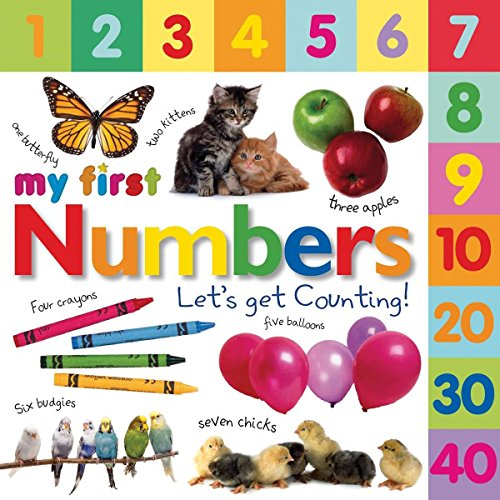 Tabbed Board Books: My First Numbers: Let's Get Counting! (My First Tabbed Board Book)