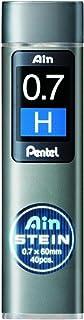 Pentel Ain Stein Mechanical Pencil Lead 0.7mm H 40 Leads (C277-H) 3 set