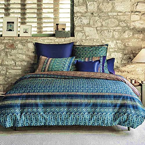 Bassetti Granfoulard - Funda nórdica para cama de matrimonio de plaza Ducale B1, 250 x 210 cm