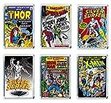 Set of 6 Marvel Super Heroes Refrigerator Magnets Fridge Magnets - 003