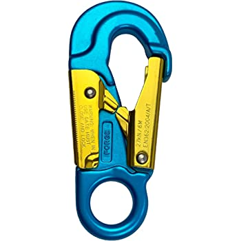 30KN Safety Snap Hook for Climbing Fall Arrest Gear Connector Gate Opening