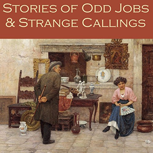 『Stories of Odd Jobs and Strange Callings』のカバーアート