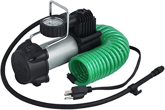 Slime 40045 Direct Drive 120V Tire Inflator with Wall Mount: image