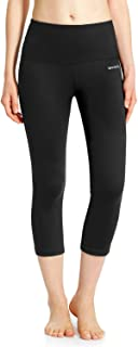 Women's High Waisted Yoga Leggings Workout Capri Tummy...