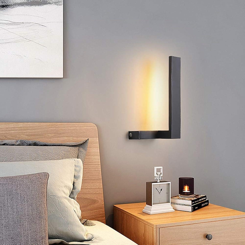YHSGD Moderne minimalistische Wandleuchte LED Indoor Wall Washer für Bedside Corridor Living Room Lighting,Weißlight,B30x15cm