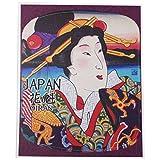 Japan Oiran Geisha Sticker for Travel Luggage/Suitcase