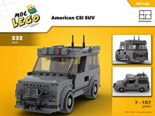 American CSI SUV (Instruction Only): MOC LEGO