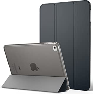 """MoKo Case Fit New iPad Mini 5th Generation 7.9"""" 2019/iPad Mini 4 2015 - Slim Lightweight Smart Shell Stand Cover with Translucent Frosted Back Protector, with Auto Wake/Sleep - Space Gray"""