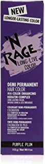 N Rage Demi Permanente Hair Color, Purple Plum