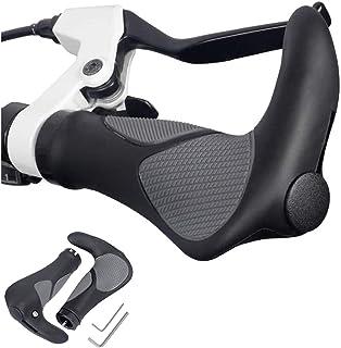 Hordlend 自転車 グリップ ハンドルグリップ ロードバイク グリップ 握りやすい ソフトラバー ク 標準22.2mm 左右ペアで1セット 【取付工具付き】 zxcsb-24