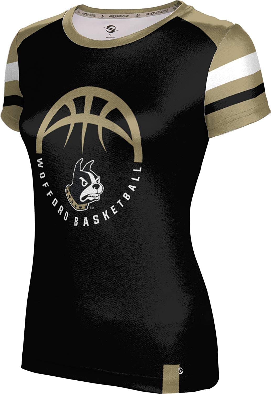 ProSphere Wofford College Basketball Girls' Performance T-Shirt (Old School)