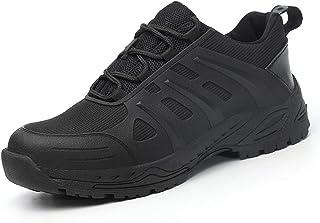 28f32b84222617 Dxyap Chaussures de Travail Homme Femmes S3 Embout Acier Protection  Antidérapante Anti-Perforation Étanche Respirant