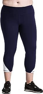 加大码七分紧身裤 - 优质女士紧身瑜伽裤 适合曲线女孩 - 美国制造