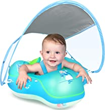 LAYCOL Baby Swimming Float Inflatable Baby Pool Float Ring Newest with Sun Protection..
