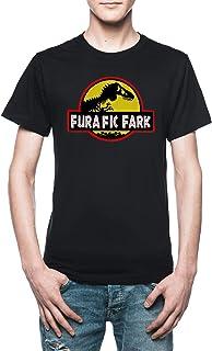 Vendax Furafic Fark T-Shirt Uomo Nero