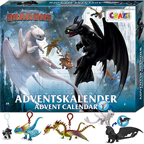 CRAZE DRAGONS Drachenzähmen Adventskalender 2020