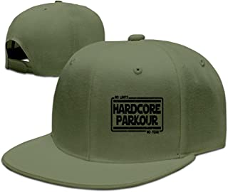 LUMILK Adjustable Hardcore Parkour Baseball Hat