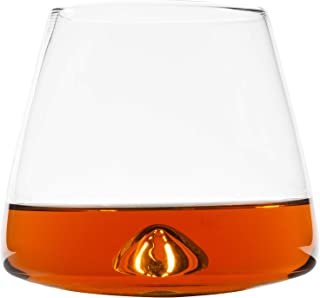 Atlas&Co | The Everyday Sipper Glasses Set of 2 Premium Whiskey, Scotch or Bourbon Glasses with Elegant Design and Bonus Cocktail Recipe Book Included. Whisky Glass Set, 2 Whiskey Glasses