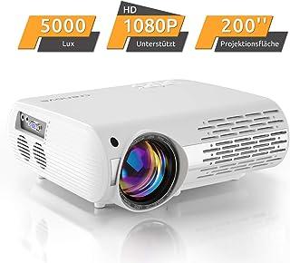 Proyector de Cine en casa de 6000 Lux (550 ANSI) XPE660 soporta 1080P Full HD, conexión con televisores PS4, Xbox, HDMI, VGA, Tarjetas SD, Dispositivos AV y USB, Cine en casa Aktualisierung