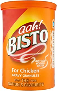Bisto Gravy Granules For Chicken - 170g - Pack of 4 (170g x 4)