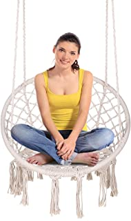 Enjoyable Best Fabric Hanging Chair Of 2019 Top Rated Reviewed Camellatalisay Diy Chair Ideas Camellatalisaycom
