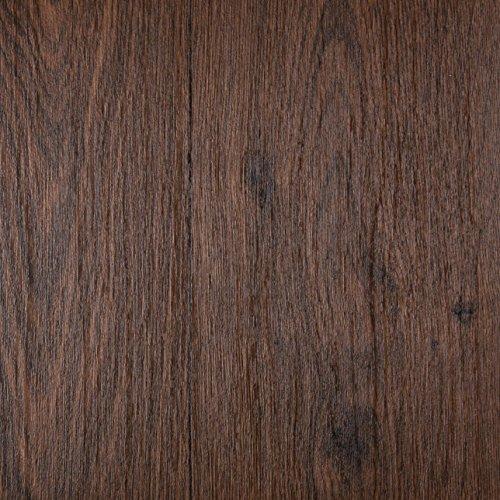 PVC Bodenbelag Holzoptik Auslegware 2,6 mm Dicke Stabparkett Dunkelbraun 300 x 400 cm. Weitere Farben und Größen verfügbar