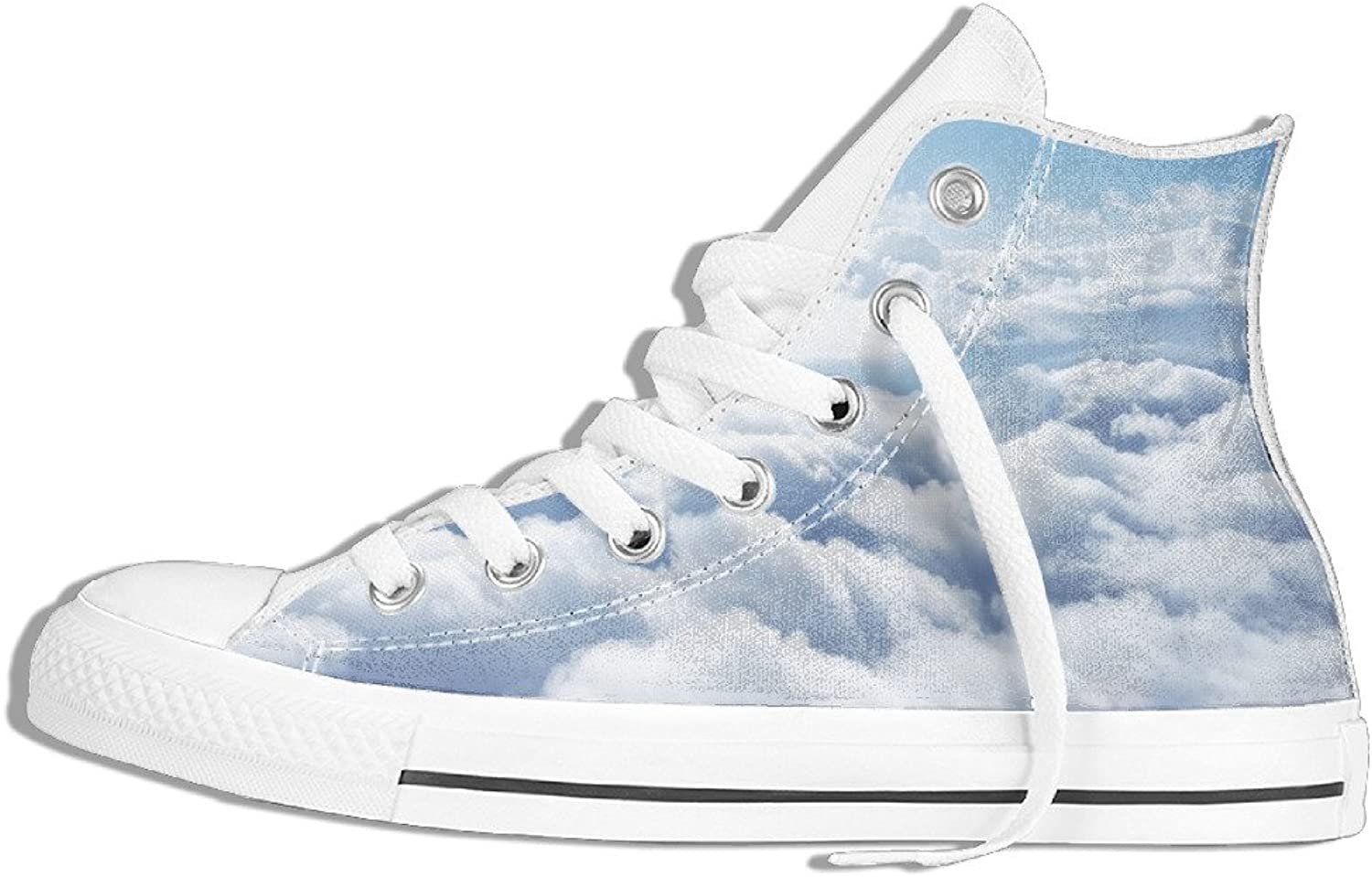 Efbj Cloud Unisex Fashion High Top Sneakers shoes for Men and Women