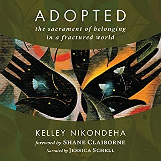 Adopted audiobook cover art