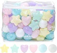 RiZKiZ Soft Polyethylene Color Balls for Kids Pool, Ball House, Kids Play, Circle