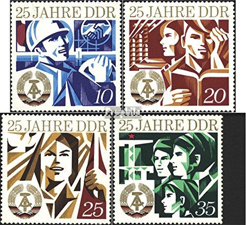 Prophila Collection DDR 1949-1952 (kompl.Ausgabe) 1974 25 Jahre DDR (Briefmarken für Sammler)