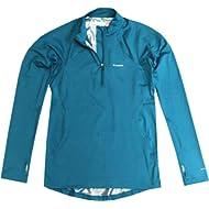 Columbia Womens Omni-Heat Midweight Baselayer Half-Zip Long Sleeve Shirt Blouse