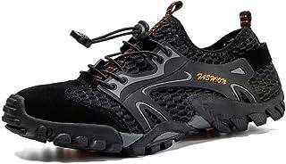 Aerlan Gym Shoes Lightweight Shoes,Chaussures pour Hommes d'escalade de Sports d'été, Chaussures de randonnée-Noir_46,Chau...