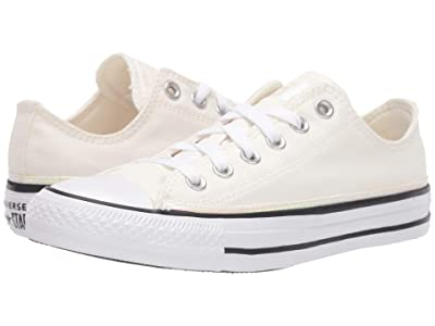 Converse Chuck Taylor All Star Iridescent Stripe Ox (Egret/White/Black) Women