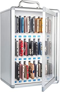 Mobile Phone Storage Locker, Company Conference Mobile Phone Storage Cabinet, Suitable for People Who Lack Self-Control (24pack)