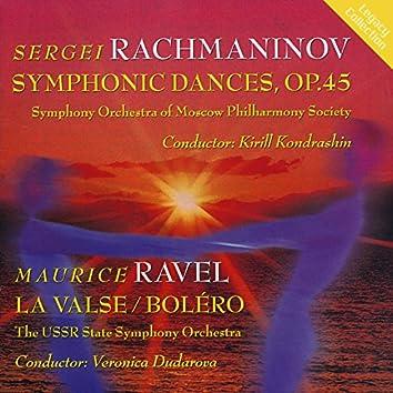 Rachmaninoff: Symphonic Dances - Ravel: La valse - Bolero