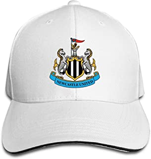 Newcastle United Football Club Fitted Sandwich Peaked Baseball Cap Hat