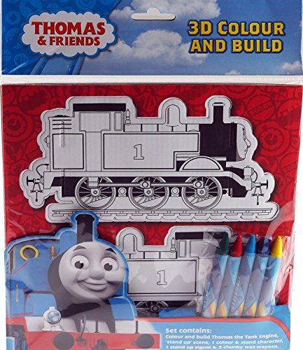 Anker Thomas 3D Colour and Build Craft Kit