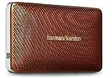 Harman/Kardon Esquire Mini Sistema Altoparlante Bluetooth/Wireless, Ricaricabile, Portatile, Sottile, con Microfono Conferenza Integrato, Marrone