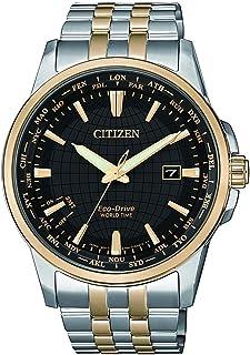 ساعة يد رسمية سيتيزن رجالي بعقارب مصنوعة من الفولاذ المقاوم للصدأ - BX1006-85E
