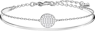 SWAROVSKI Women's Ginger Bangle Bracelet Jewelry Collection, Clear Crystals