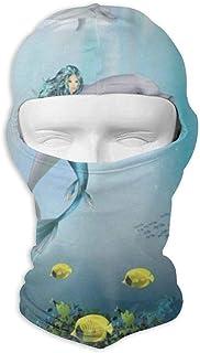 Mcdorty Balaclava Underwater World Beautiful Jellyfish Coral Reef Fantastic Ski and Winter Sports Headwear for Youth Skiing
