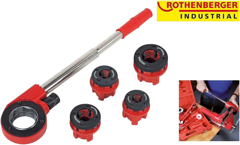 Rothenberger Industrial Super Cut Gewindeschneidkluppensatz B00PAK983K   Gute Qualität