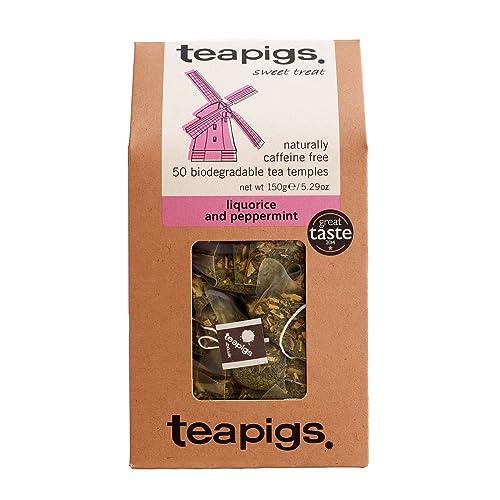 Teapigs Liquorice & Peppermint Tea 50bag