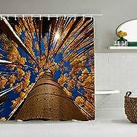 シャワーカーテンラブリーハムスターとキノコの防水バスカーテンフックに含まれるdBathroom装飾的なアイデアポリエステル生地アクセサリー