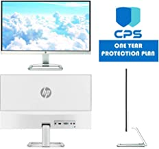HP 23er 23-inch Full HD (1920 X 1080) IPS LED Backlit Zero Bezel Monitor with HDMI & VGA Port (T3M84AA#ABA) ED Bundle-$99 Value (Includes: 1 Year Extended CPS Limited Warranty), Renewed