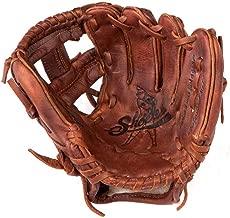 Shoeless Joe Gloves Joe Junior Brown Mini Fielders Glove, Right Handed, 9-Inch